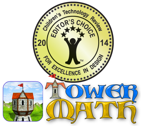 Tower Math Childrens Technology Review Editors Choice Award