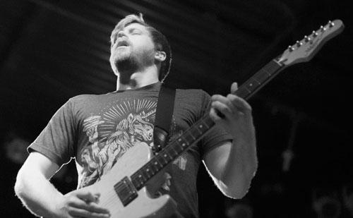 Brendan Ektrom of Circa Survive - Cat's Cradle - Carrboro, NC - 6/27/2014
