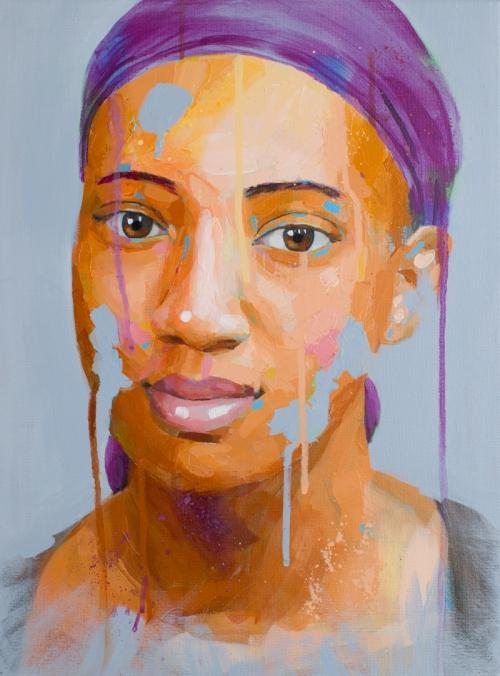 Lindsey Stranger painting
